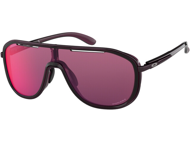 Oakley Outpace Sunglasses crystal raspberry/prizm road
